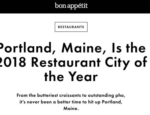 """It's never been a better time to hit up Portland, Maine"""